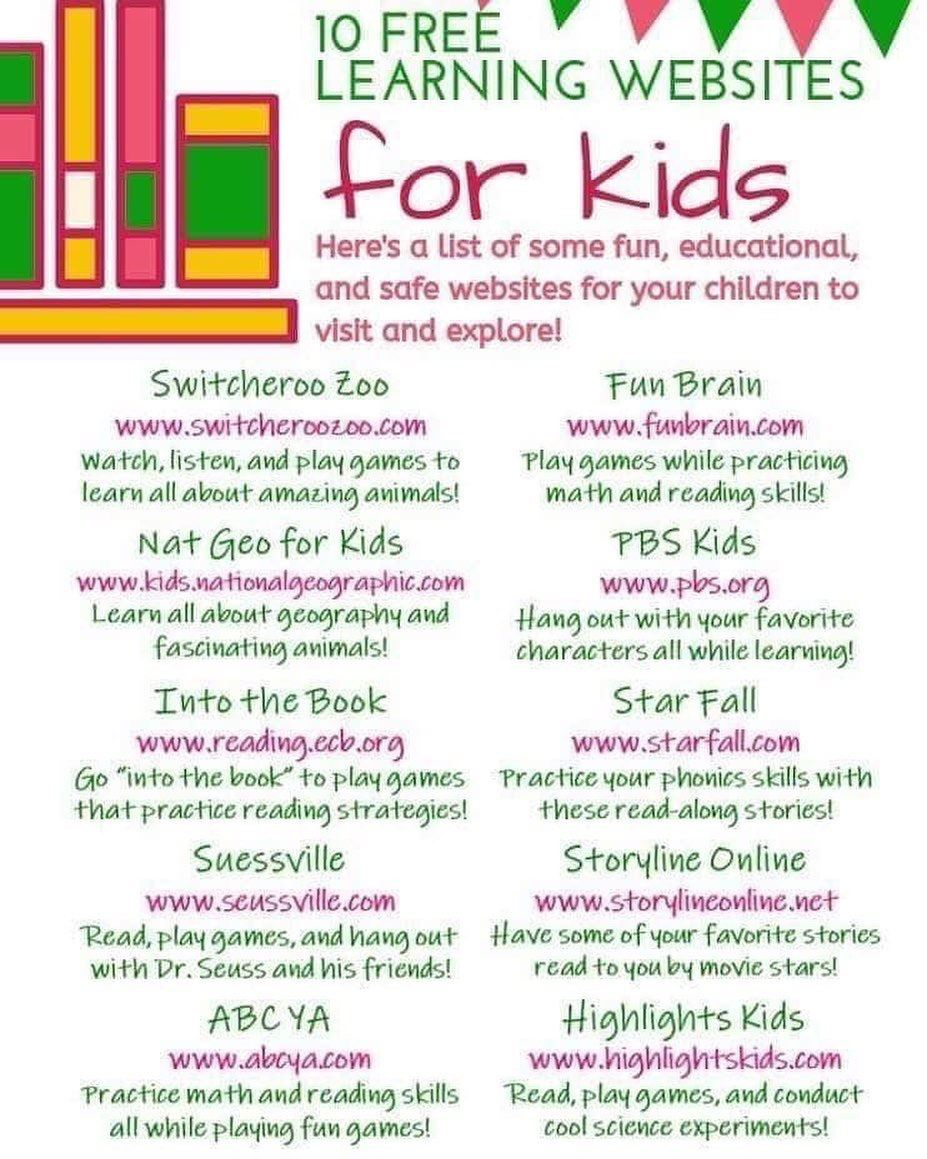 Free Sites for Kids