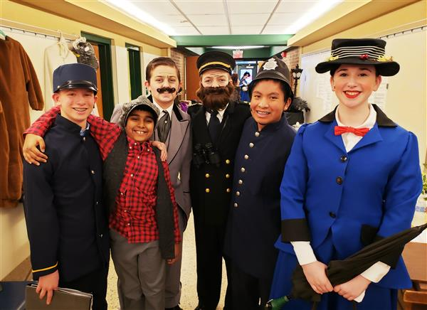 Mary Poppins Musical is a Hit at Deerfield School